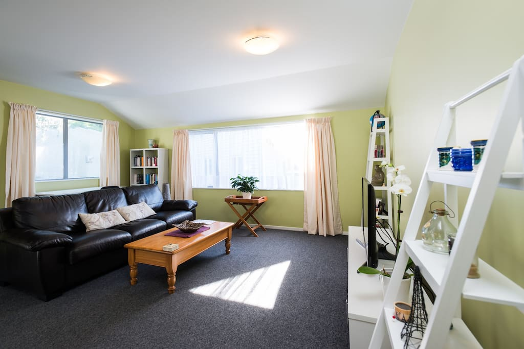 The entire apartment is 100 square metres in size