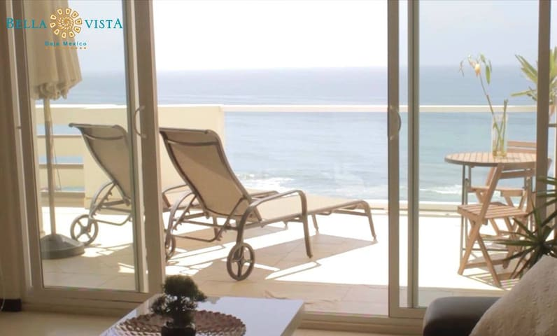 Romantic Amazing Ocean Front Condo - Tijuana - Apartment