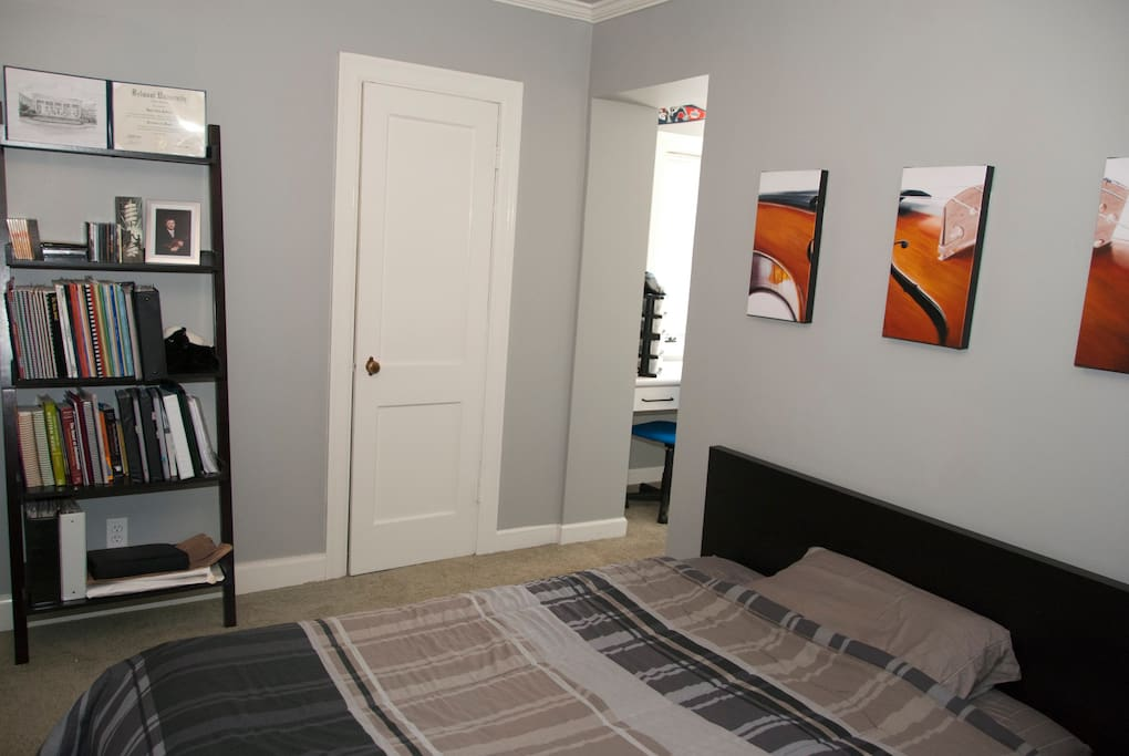 Master bedroom. The closet is open for you as well!