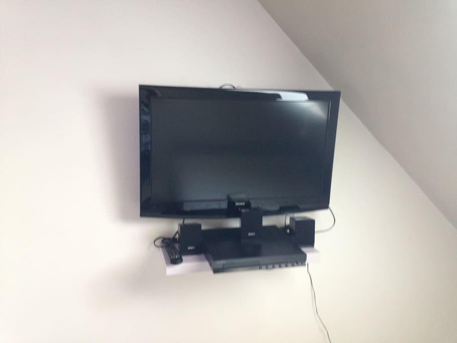 TV par câble avec Home Cinéma