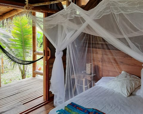 Cabaña cerca de la selva/playa
