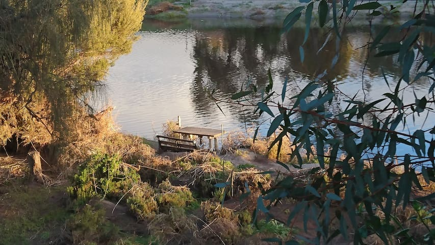 River Cottage- Onkaparinga River waterfront (1847) - South Australia - House