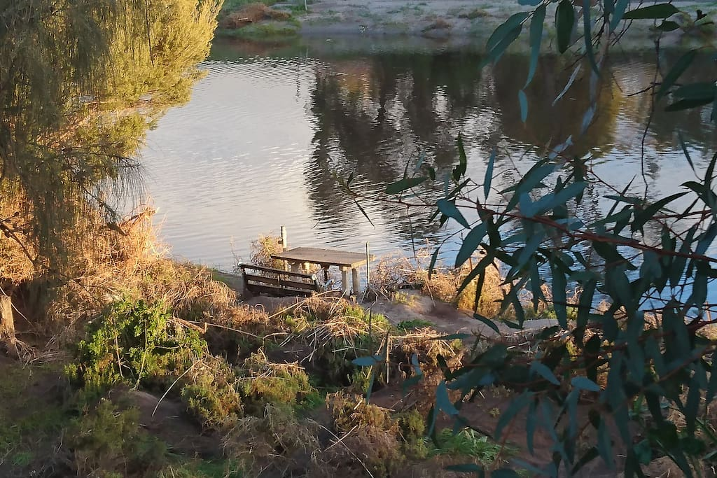 Exclusive Private Waterfront for fishing, canoeing or just going with the flow.