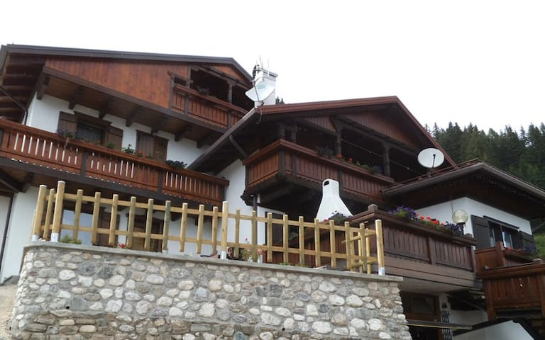 Ceda sul vié dal Papa – Zavarie - Costalta - House