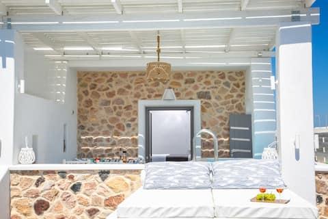Aegean Melody Suites-Premier Suite,Outdoor Jacuzzi