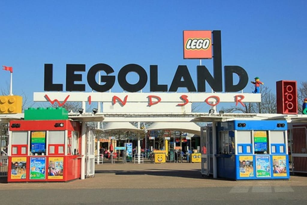 Legoland is 15 minutes drive from Pixie Place