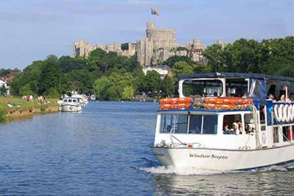 River boat trips all the year round
