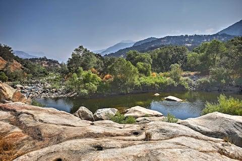 Sequoia River Ranch Cabin
