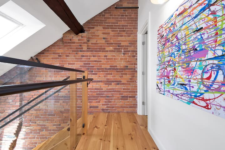 Exposed Brick & Art
