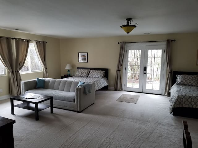 Spacious Suite with Southern Sun