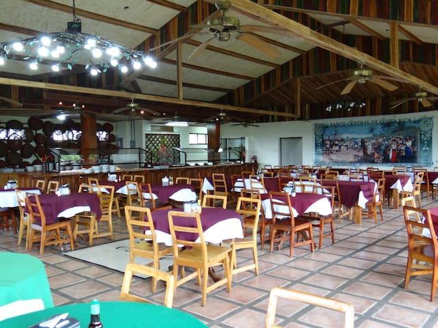 Restaurant of Doka Este Coffee Tour