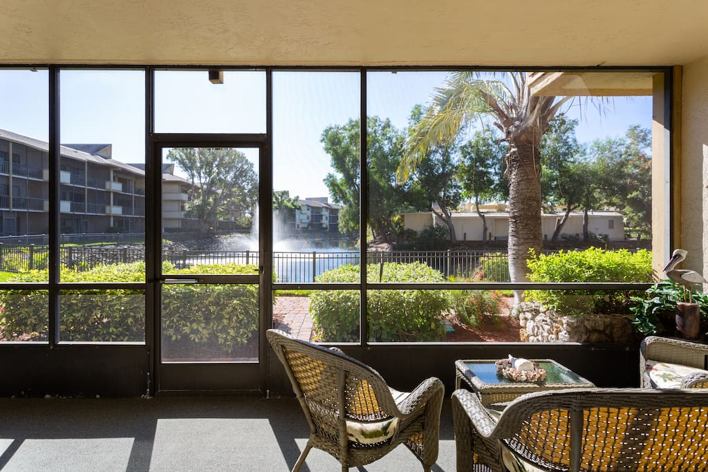 recharge your batteries in this south-facing bright and sunny unit