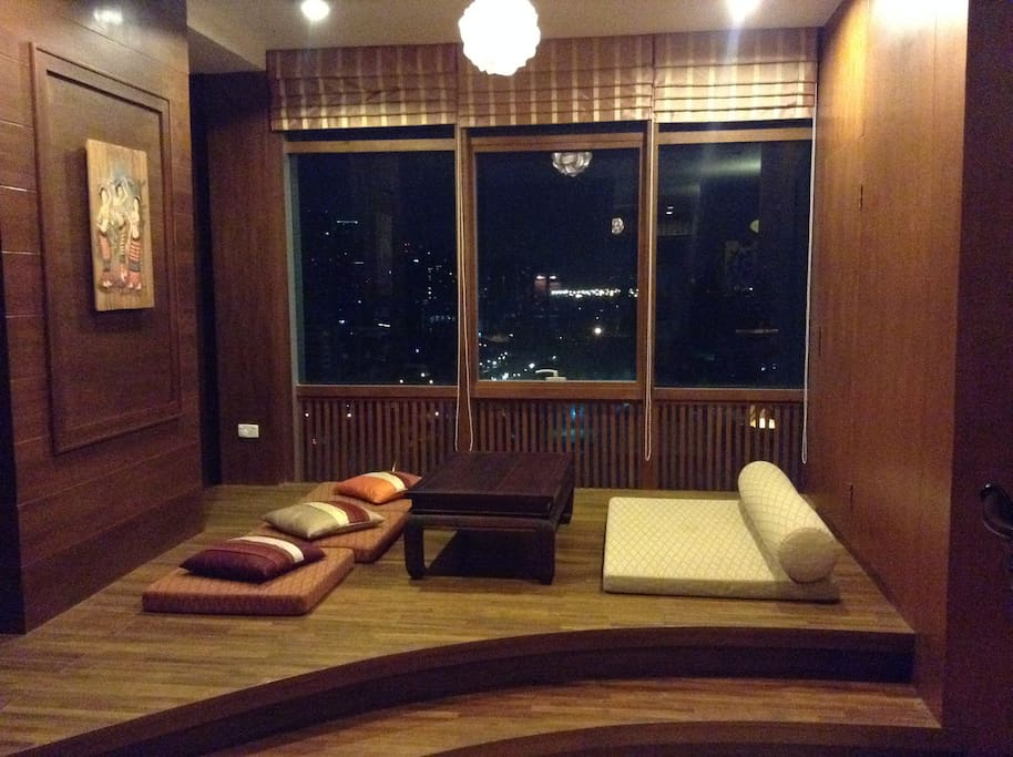 A very unique apartment.