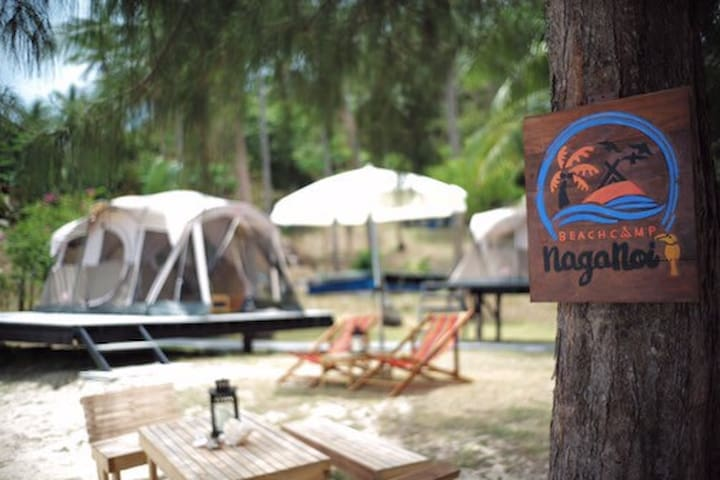 NagaNoi Beach Camp IV - Phuket - Zelt