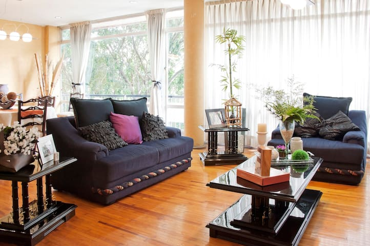 Amplia Habitación en col condesa - Ciudad de México - Appartement