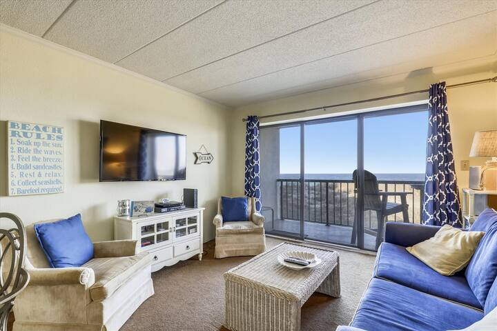 Summer Beach 102 - Oceanfront, Linens Included!