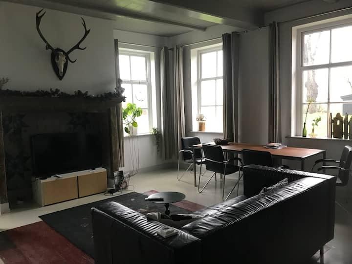 Appartement in monumentale boerderij in Drenthe