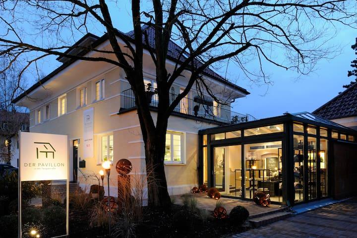 """Das Appartment im Münchner Osten """"Der Pavillon"""""""