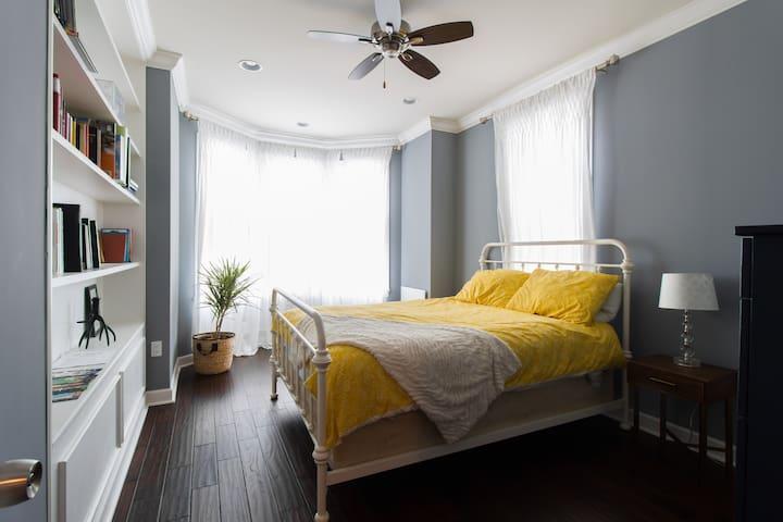 Entire private floor: 2 bedrooms, private bathroom - Philadelphia - Hus