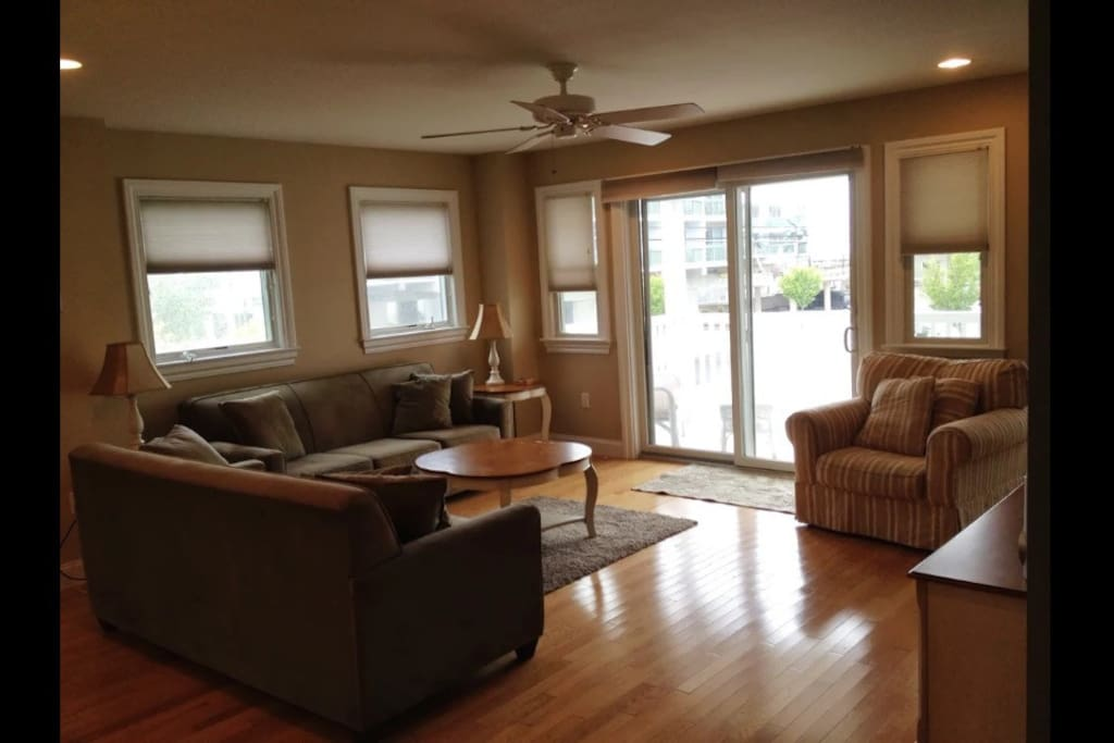 Family/ living area with walkout to small deck (floor 2)