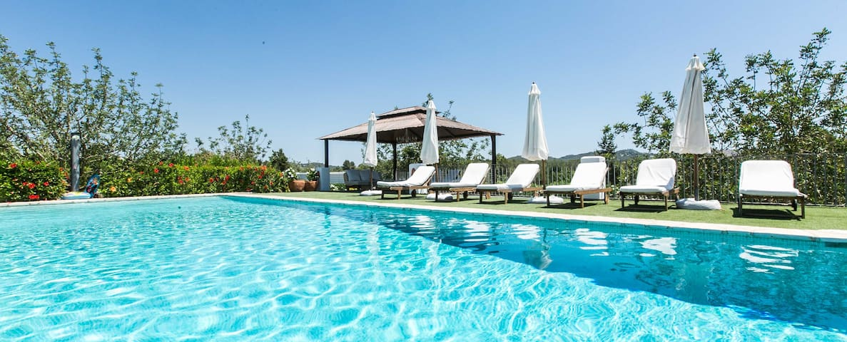 LUXURY VILLA IN PUIG D'EN VALLS (3KM FROM IBIZA) - Ibiza - Willa