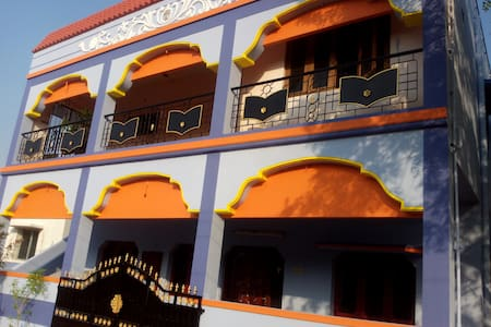 OUR'S IS A 2 BEDROOM FLAT IN MADURAI