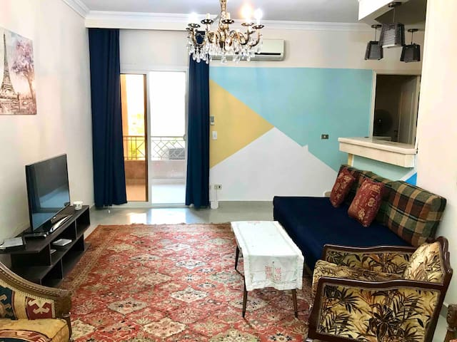 Cozy Apartment Two Bedrooms @ Sheikh zayed city