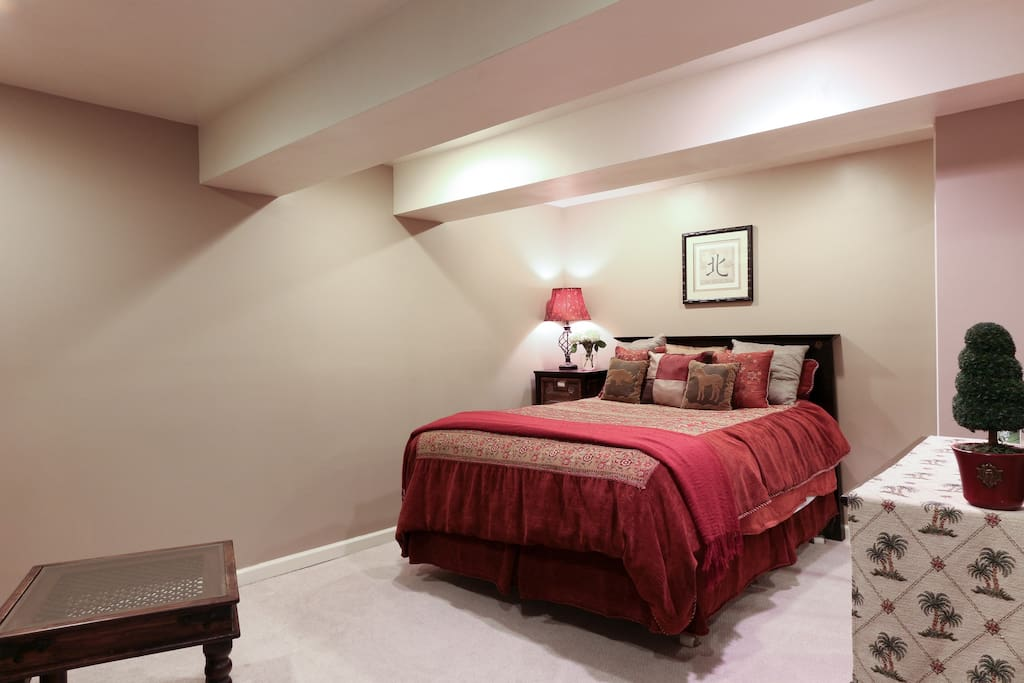 Large Master Suite with pillow top Queen Mattress