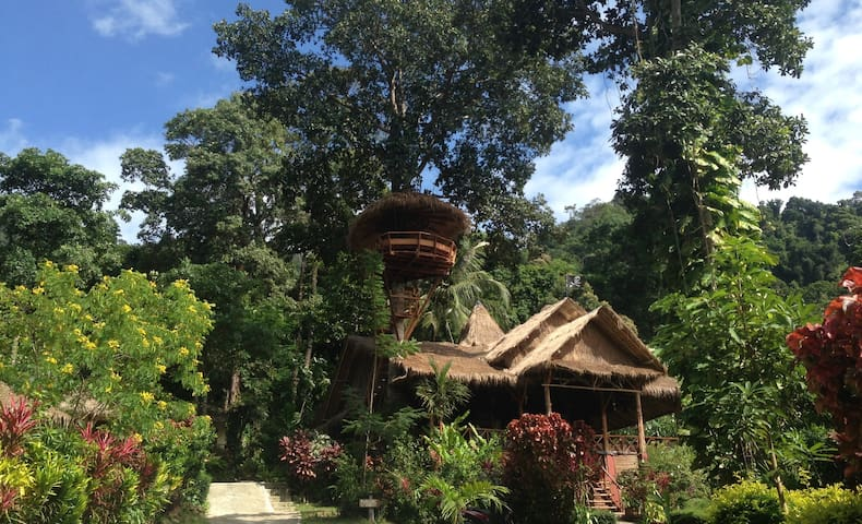 Deluxe bungalow with sea view 2 - Lonely Beach, Koh Chang - Bungalo