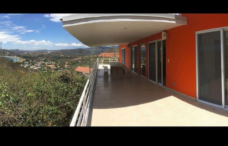 Orange House - Fantastic view, yet close to town! - San Juan del Sur - House