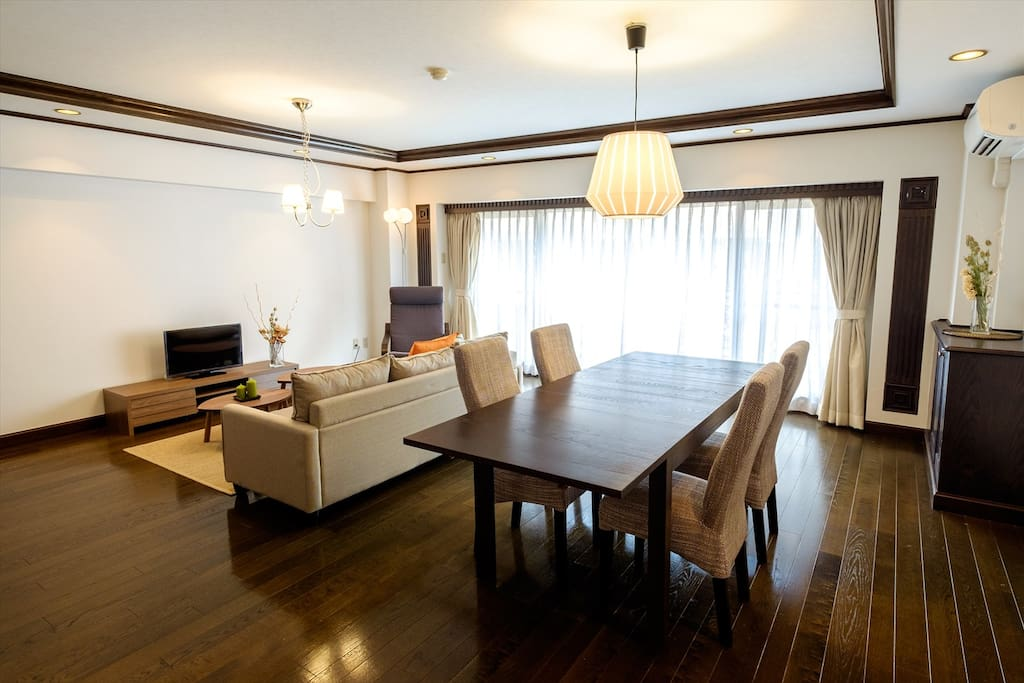 Lounge room: Spacious and easy to stay.