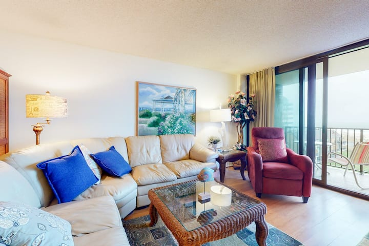 Sea Colony Ocean 5th floor condo w/ tennis court, basketball court, and pool