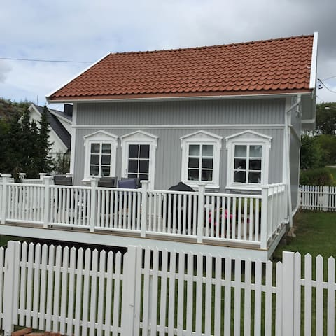 Charmy and central coastal house - Fredrikstad - Huis