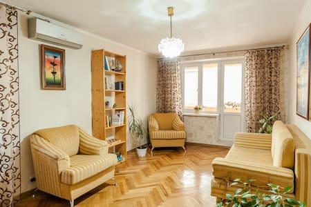 Central Park Apartment (Pedestrian Street) - Chișinău - Hotellipalvelut tarjoava huoneisto