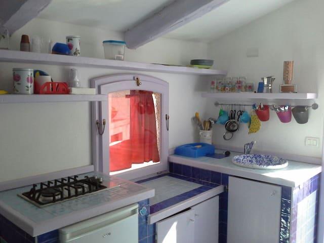 Monolocale con ampia veranda - Tropea - Casa