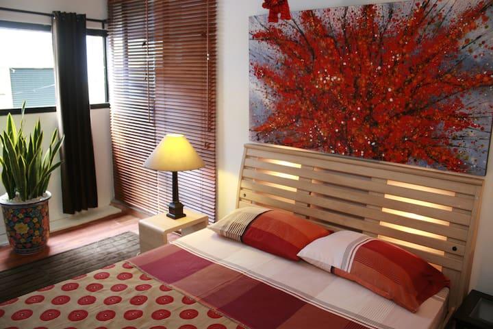1 Quiet Central Studio-Bangkok MRT - Bangkok - Apartemen