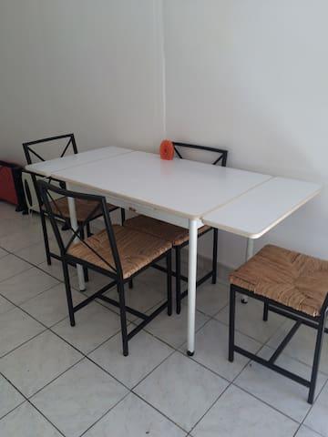 Studio sur jardin pour personne seule - Drancy - Lejlighed