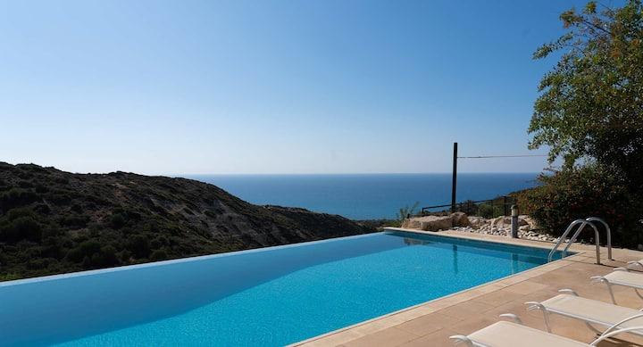 Beautiful Villa Arethusa with stunning sea views