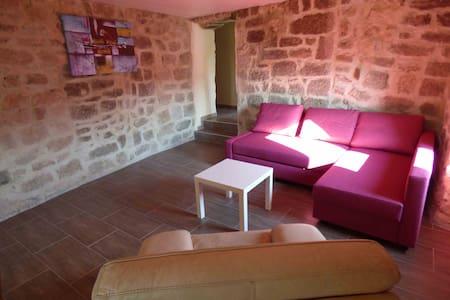"""""""Les meules de pierre"""" en Ardèche - Faugères - Appartamento"""