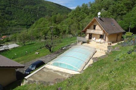 Maison-chalet à 15min de Grenoble - Pommiers-la-Placette - Casa