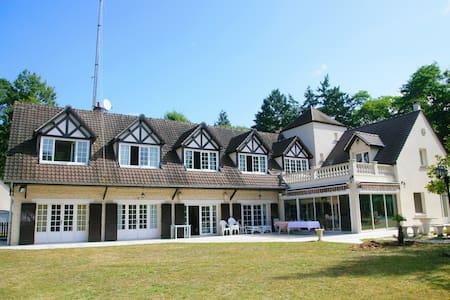 La Grande Vallée - Maison de charme - Fontaineblau - Bourron-Marlotte