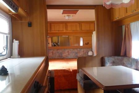 Caravan nel Camping Les Salasses a Cogne