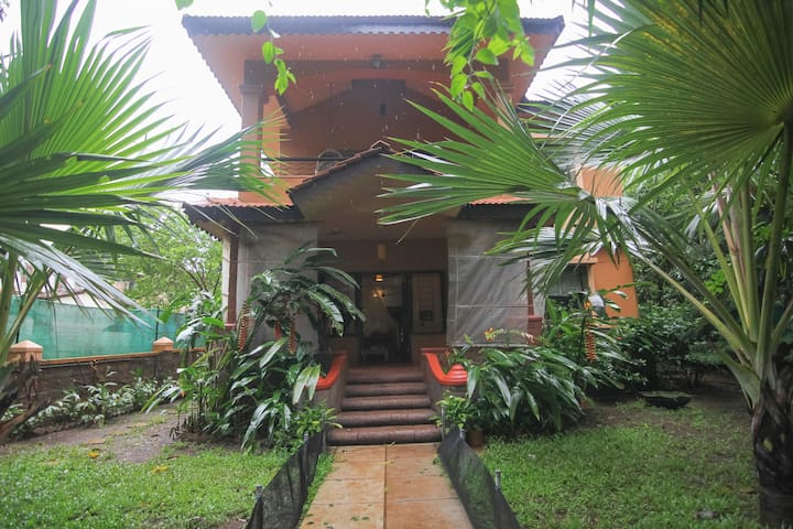 Candolim Home with  Garden View