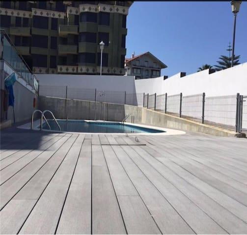 Apartamento nuevo junto a playa Trengandín