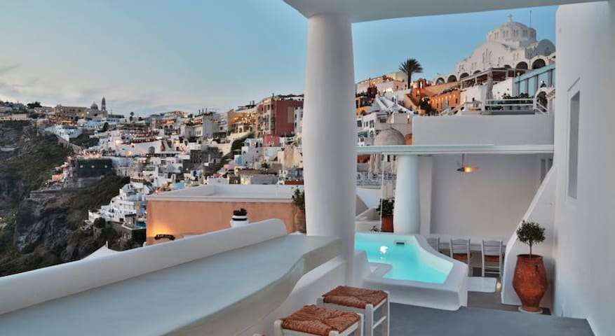 Executive villa with private jacuzz - Fira - Appartement