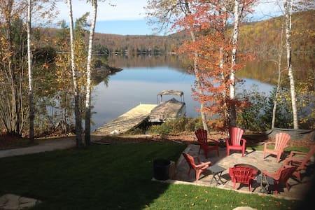 Spacieuse Maison bord du Lac Gagnon - Duhamel