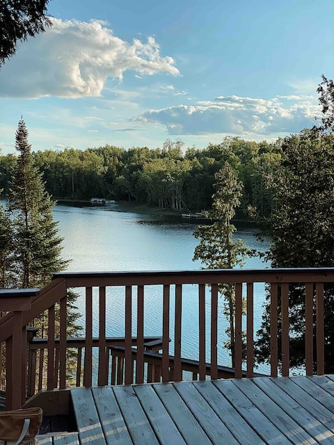 God's Country Getaway! Entire cabin on Turtle Lake