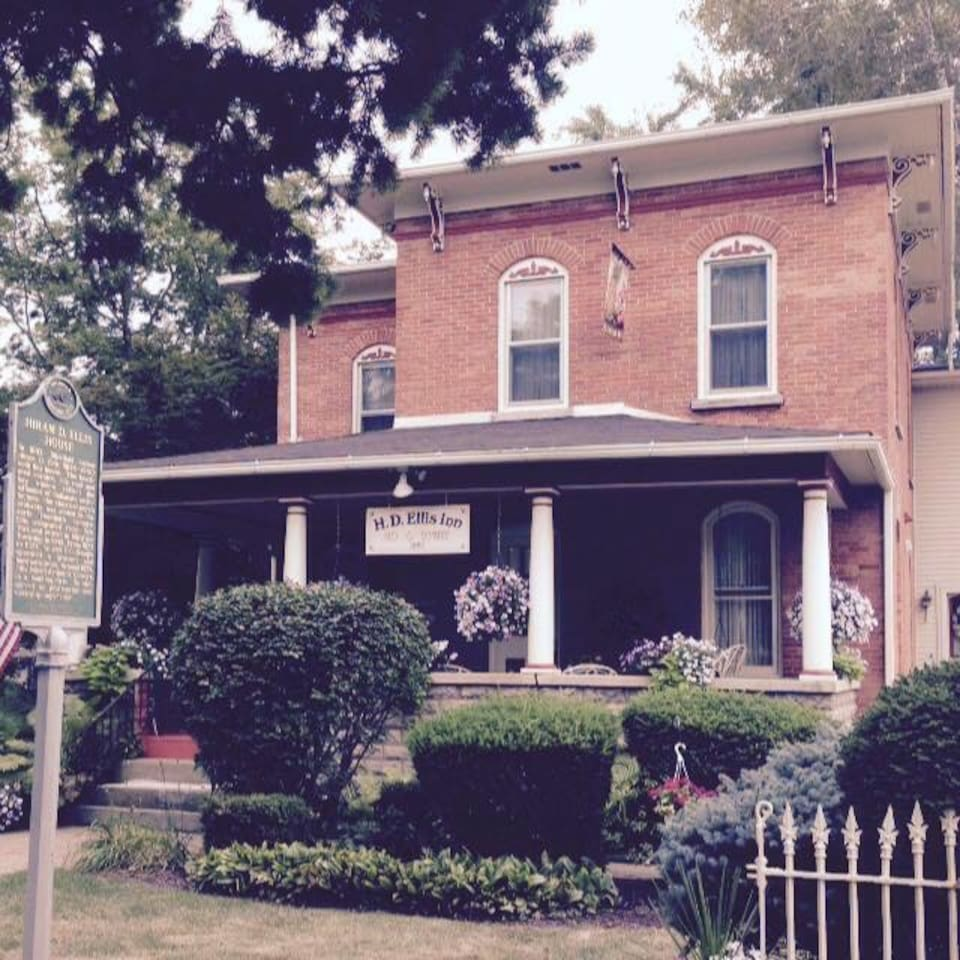The house was built in 1883 and is appointed with the finest antiques of the era.