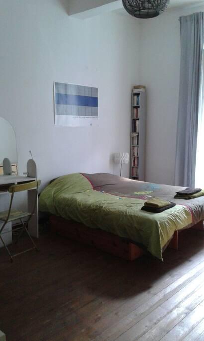 Chambre 1: lit 2 places