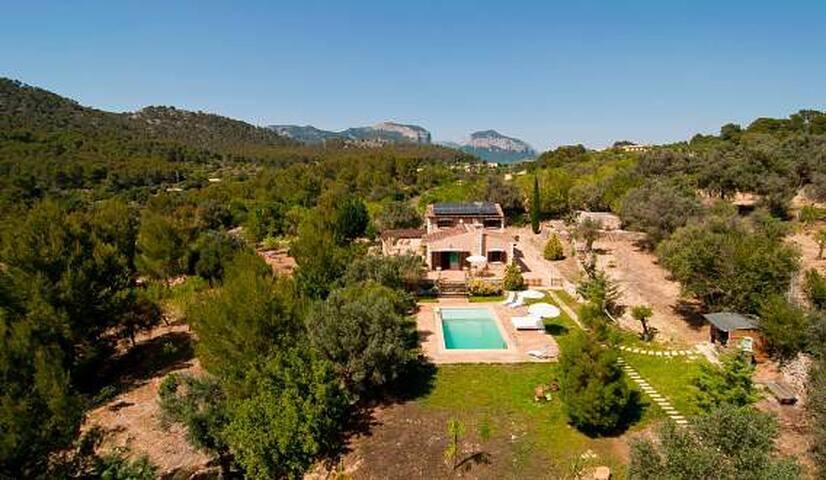 VILLA RUBEN,CASA EN LA TRAMUNTANA - Mallorca Island - Huis
